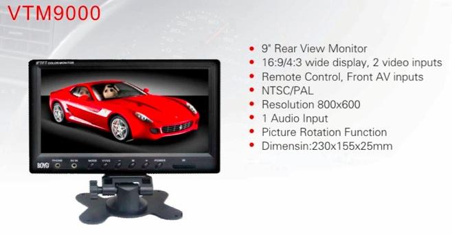 Caméra et écran de contrôle Captur16