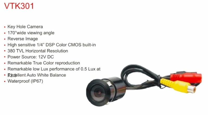 Caméra et écran de contrôle Captur17