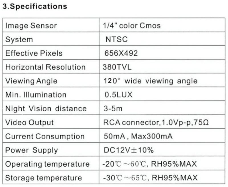 Caméra et écran de contrôle Captur20