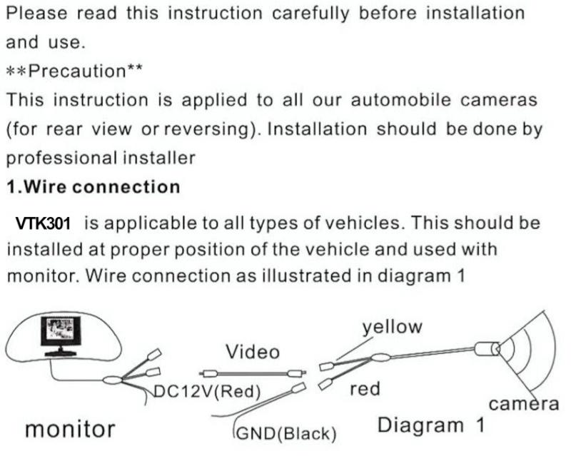 Caméra et écran de contrôle Captur21