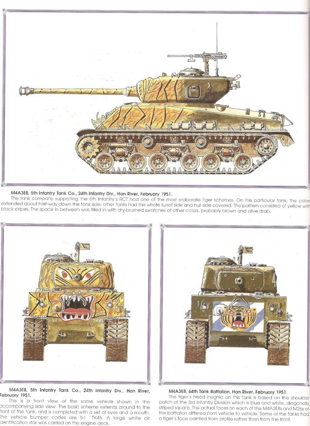 sherman  M4A3E8 COREE Numari66