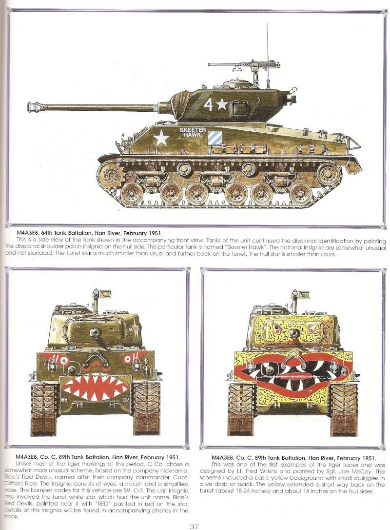 sherman  M4A3E8 COREE Numari67