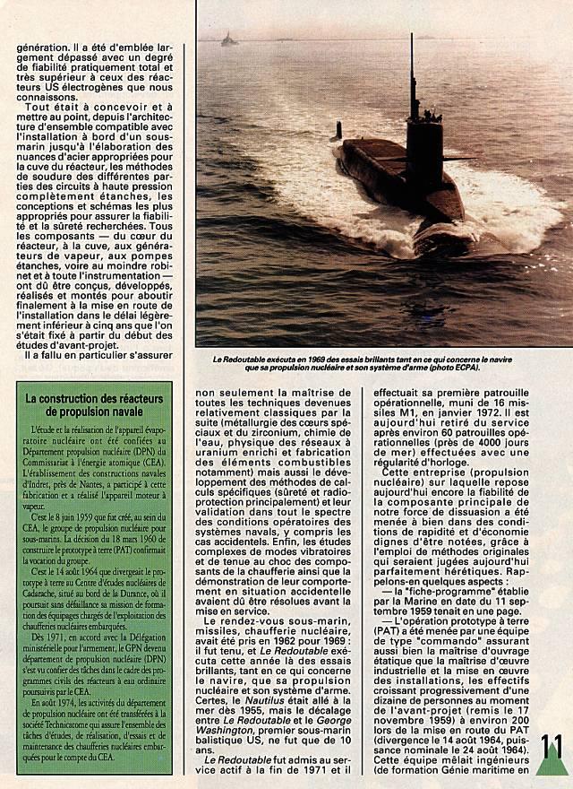 LE REDOUTABLE (SNLE) (Sous surveillance spéciale) - Page 18 P1110
