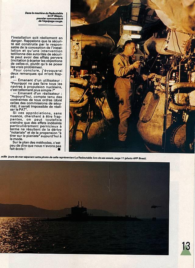 LE REDOUTABLE (SNLE) (Sous surveillance spéciale) - Page 18 P1310