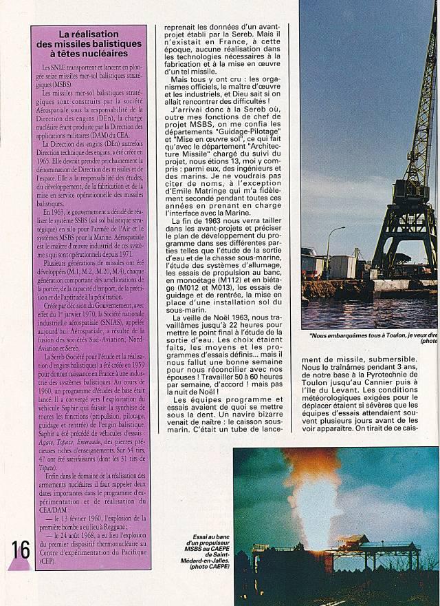 LE REDOUTABLE (SNLE) (Sous surveillance spéciale) - Page 18 P1610