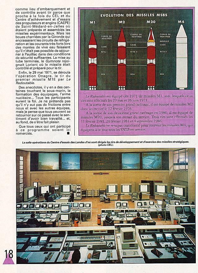 LE REDOUTABLE (SNLE) (Sous surveillance spéciale) - Page 18 P1810