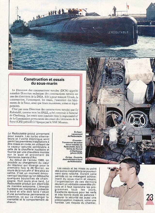 LE REDOUTABLE (SNLE) (Sous surveillance spéciale) - Page 18 P2310