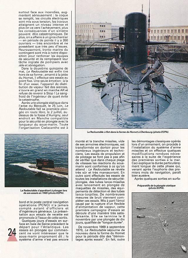 LE REDOUTABLE (SNLE) (Sous surveillance spéciale) - Page 18 P2410