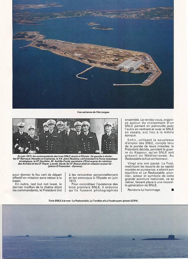 LE REDOUTABLE (SNLE) (Sous surveillance spéciale) - Page 18 P2911