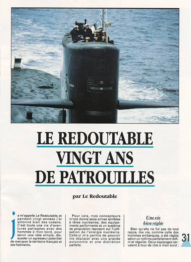 LE REDOUTABLE (SNLE) (Sous surveillance spéciale) - Page 18 P3110