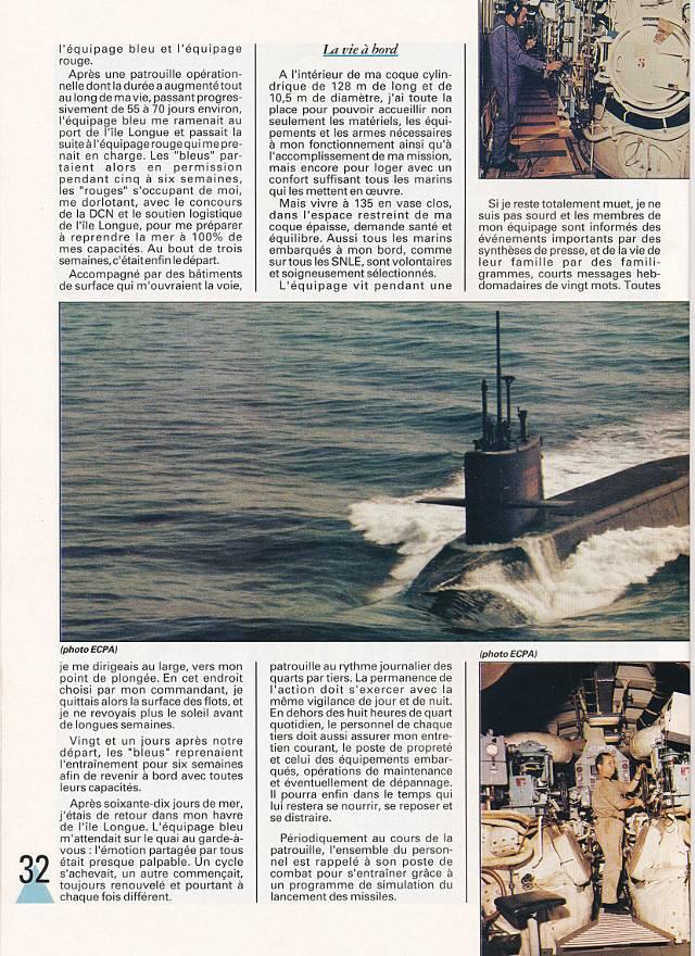 LE REDOUTABLE (SNLE) (Sous surveillance spéciale) - Page 18 P3210