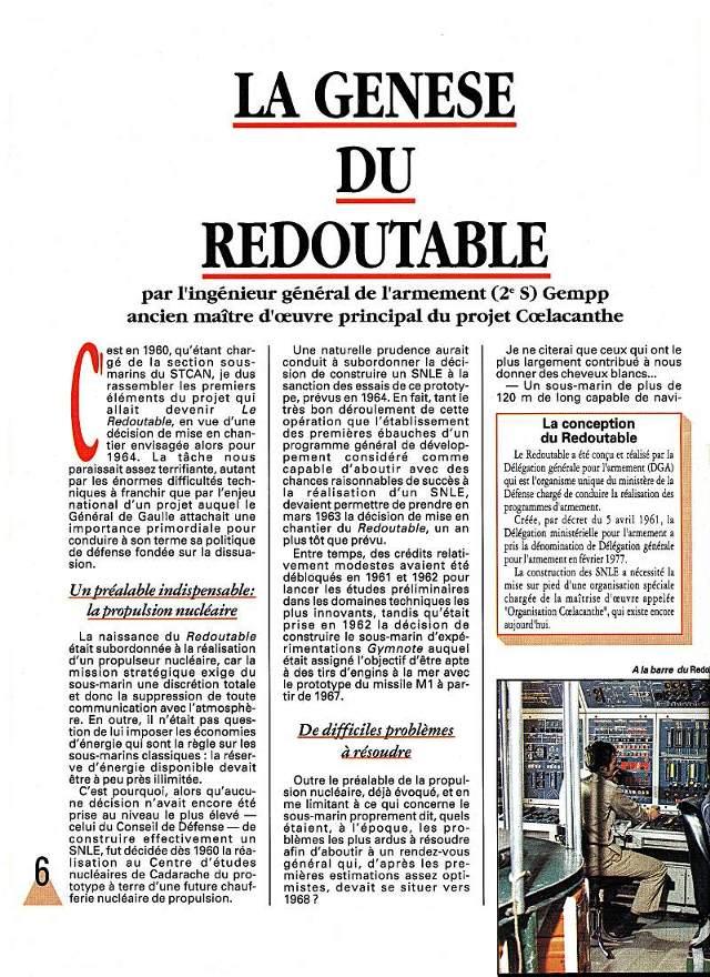 LE REDOUTABLE (SNLE) (Sous surveillance spéciale) - Page 18 P512