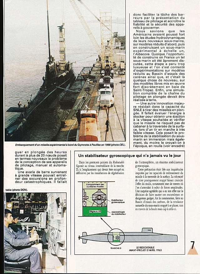 LE REDOUTABLE (SNLE) (Sous surveillance spéciale) - Page 18 P610