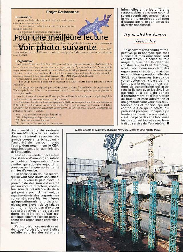 LE REDOUTABLE (SNLE) (Sous surveillance spéciale) - Page 18 P811