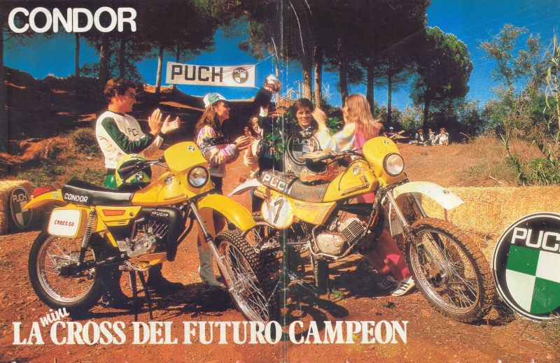 Poster Puch MiniCross Condor 0512