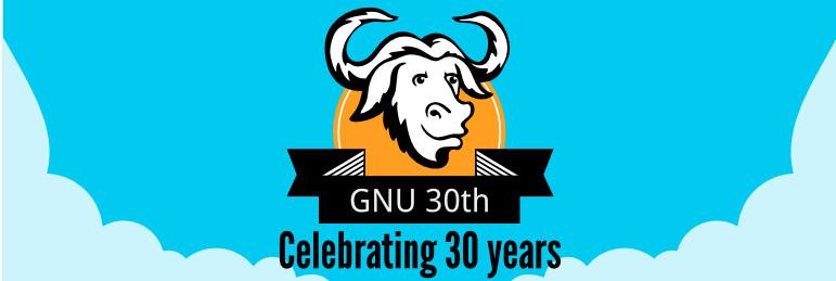 GNU hoy cumplimos 30 años  (30 años de libertad) Gnu_3010