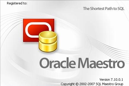 Oracle Maestro 7.10.0.1 Oracle10