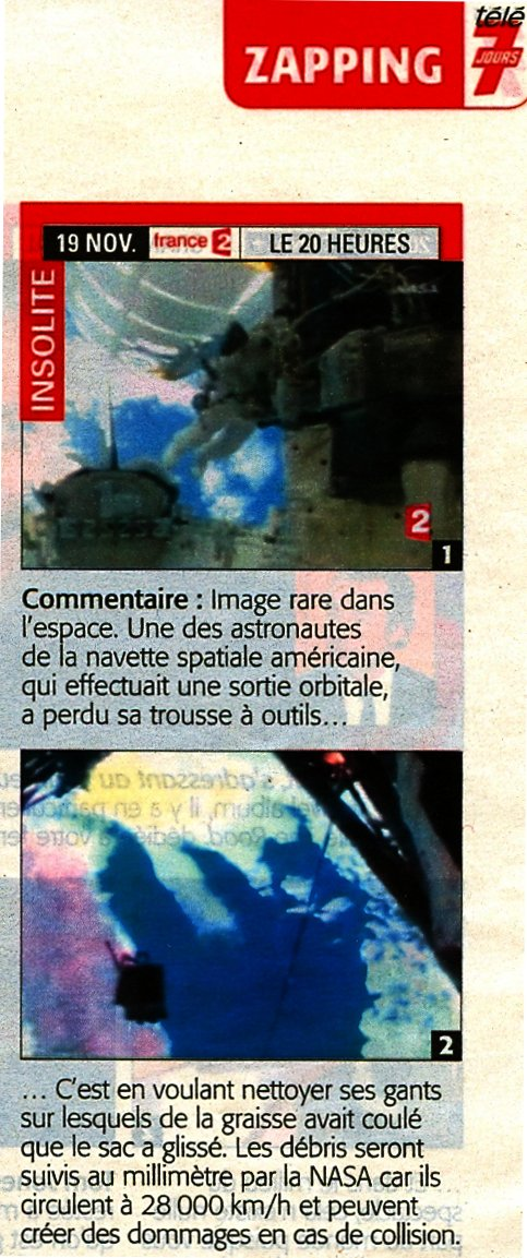 [STS-126] Endeavour : La mission - Page 19 Tele7j10