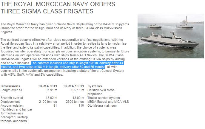 Sigma Marocaines / Royal Moroccan Navy Sigma Class Frigates - Page 3 Sigart10