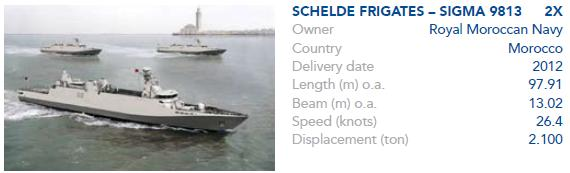 Sigma Marocaines / Royal Moroccan Navy Sigma Class Frigates - Page 3 Sigdel11