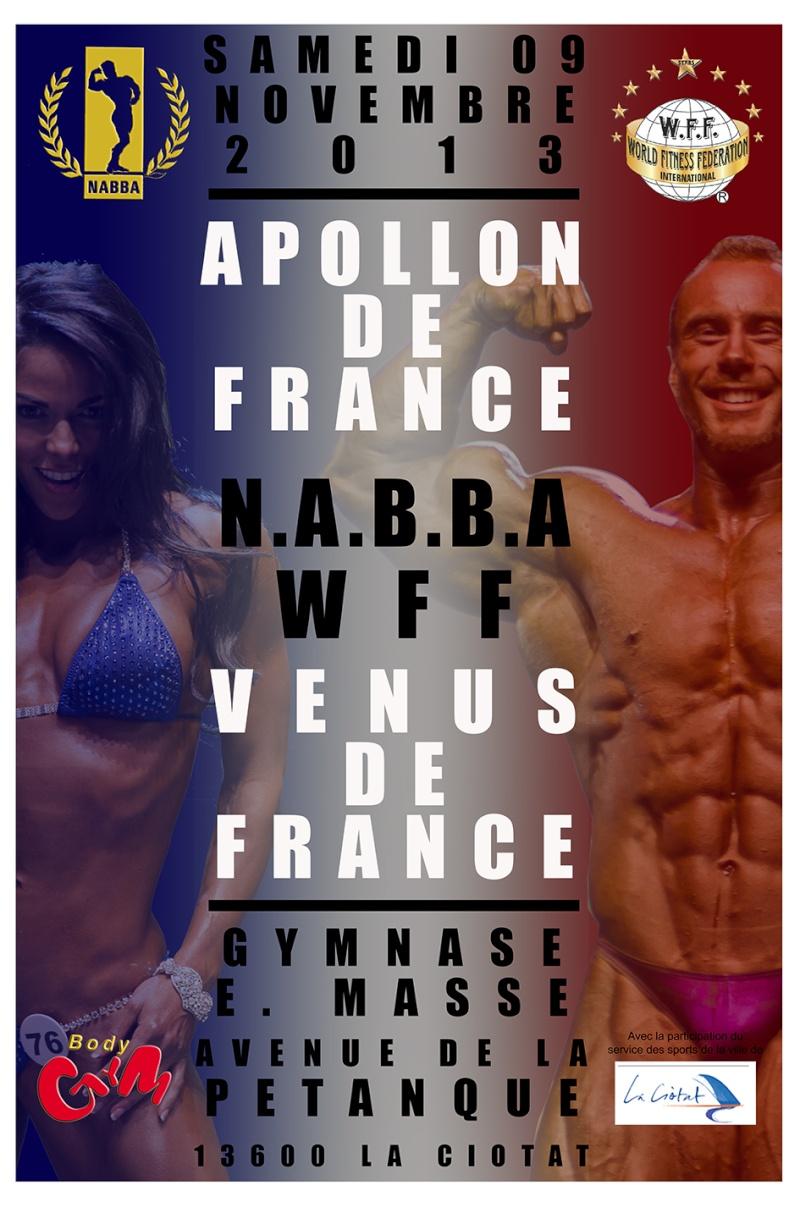 france - Apollon et Venus de France le 9 novembre 2013 Affich10