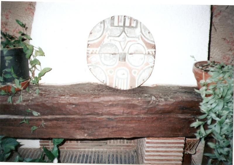 Vend authentique masque de sorcier Batéké de la fin du XIXe siècle du Congo Masque10