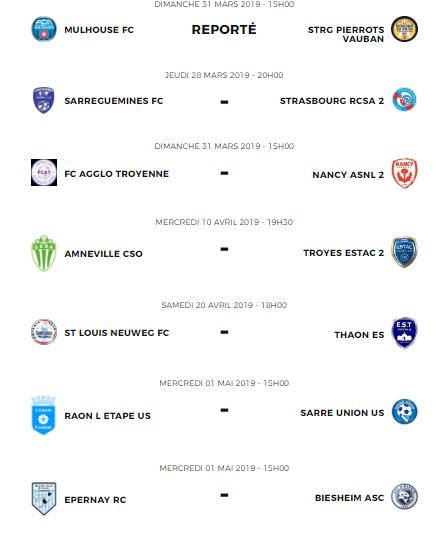 Pronos matchs du groupe F de N3 saison 2018/2019 20zome10