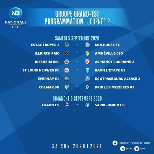 Les matchs du groupe GE saison 2020-2021 2emejo10