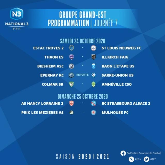 Les matchs du groupe GE saison 2020-2021 7journ10