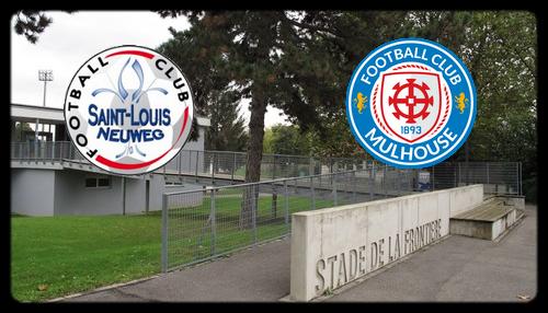 [N3] 3ème journée: FC Saint Louis Neuweg - FC Mulhouse  Saintl11