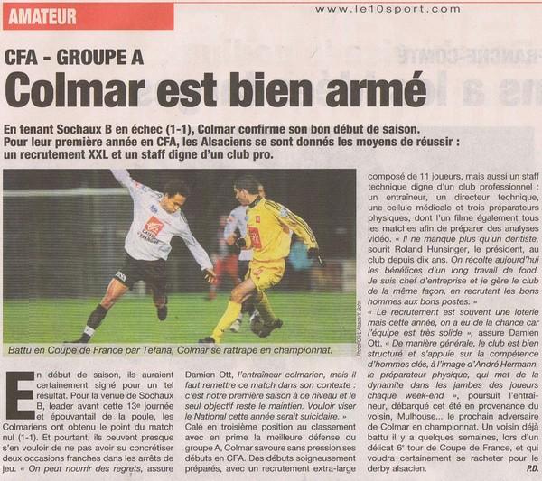 [CFA] FC Mulhouse / SR Colmar le 25/03/2009 Srcolm10