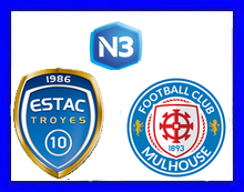 [N3] 2ème journée: ESTAC Troyes II - FC Mulhouse Troyes11