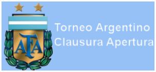 TORNEO ARGENTINO CLAUSURA - APERTURA