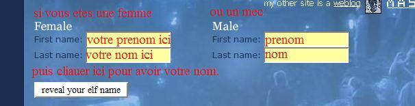 votre nom elfique^^ Etym10