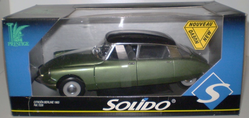 Citroën DS 1/18° SOLIDO Solido12