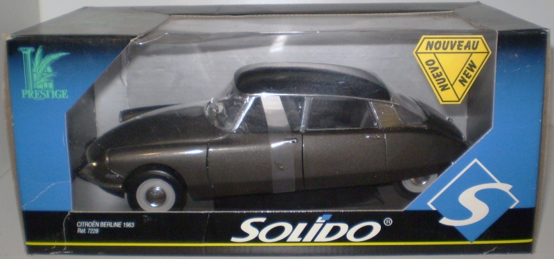 Citroën DS 1/18° SOLIDO Solido13