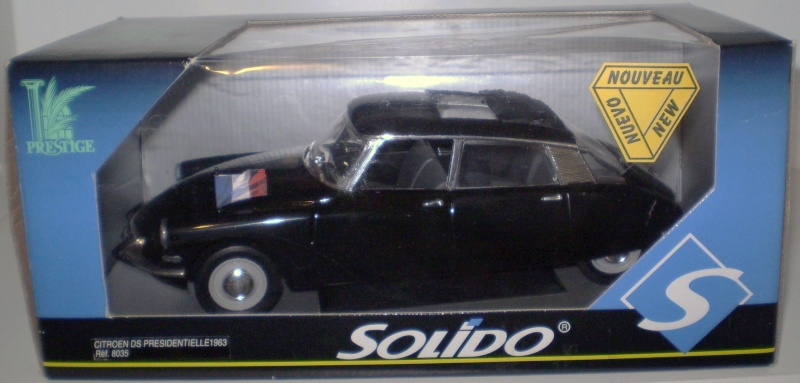 Citroën DS 1/18° SOLIDO Solido17