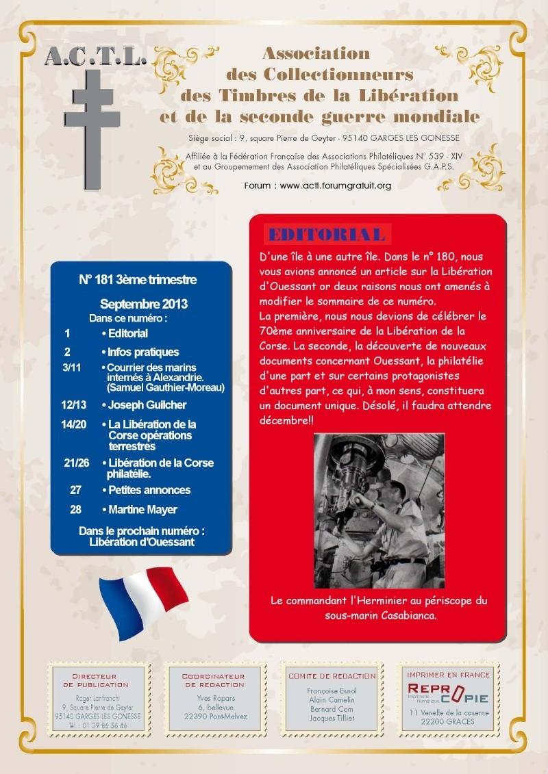 LA REVUE N° 181 3° TRIMESTRE 2013 1are_d12