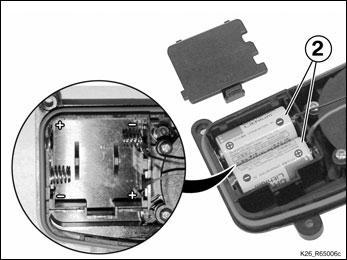 mise en fonction defectueuse de l'alarme sur R 1200 RT K26_r611