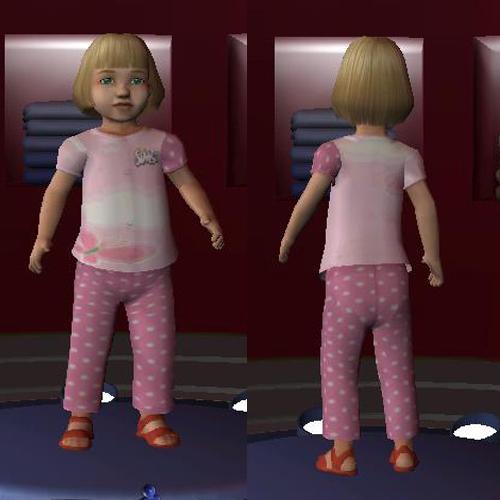 pijamas de  bebe nena A_luna10