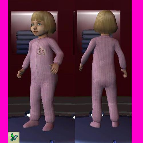 pijamas de  bebe nena Rayas210