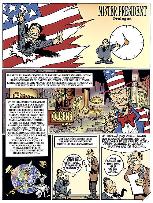 Mister President - Tome 3: Time machine [Clarke] 97828011