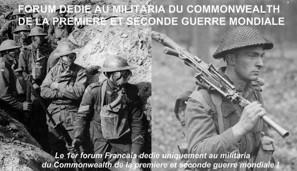 Forum Militaria du Commonwealth de la première et seconde guerre mondiale ! Forum10