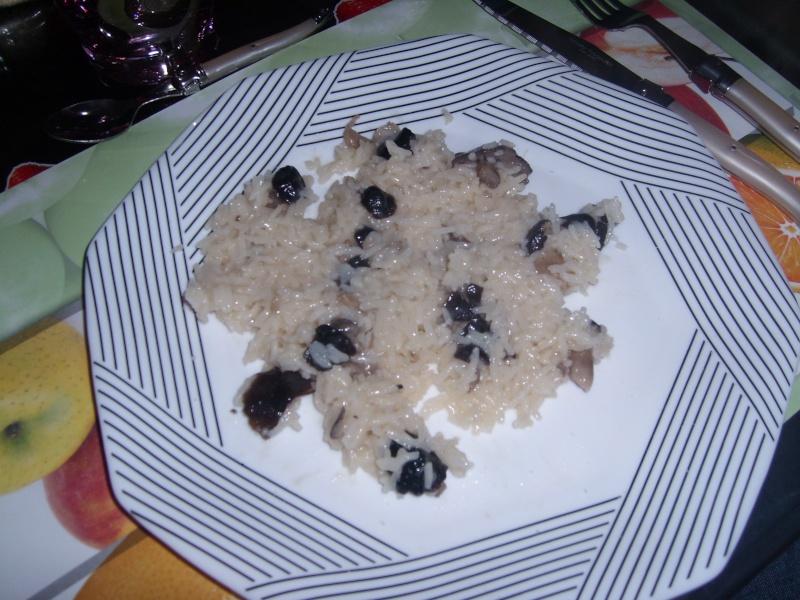 risotto aux grisets et au parmesan Sl279111