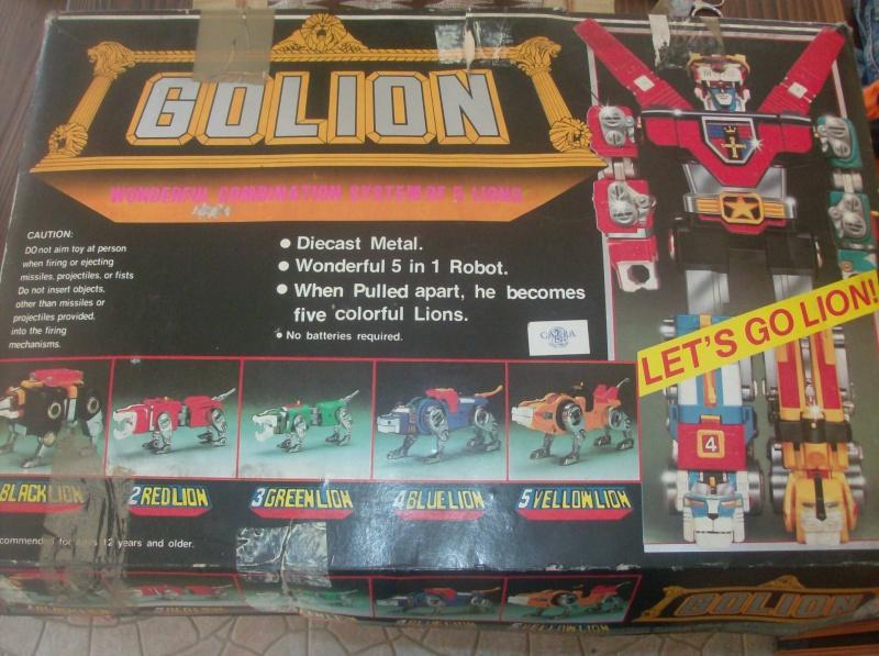 Golion Voltron Jaguarobot CM 30 Diecast Metal anni 80  Hpim4914