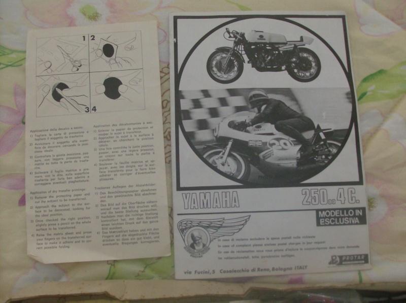Baravelli Kit Montaggio moto Yamaha 250 cc 4 cilindri anni 60 70 Vintage  Hpim5012