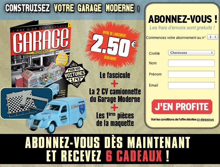 [1/43] LE GARAGE MODERNE ! (Hachette Collection) Garage11