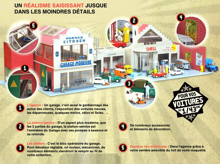 [1/43] LE GARAGE MODERNE ! (Hachette Collection) Garage14
