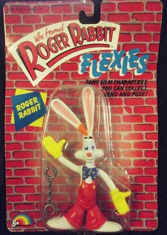 """ROGER RABBIT """"Who Framed""""  (Ljn)  1988 0112"""