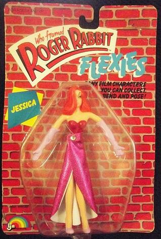 """ROGER RABBIT """"Who Framed""""  (Ljn)  1988 0312"""